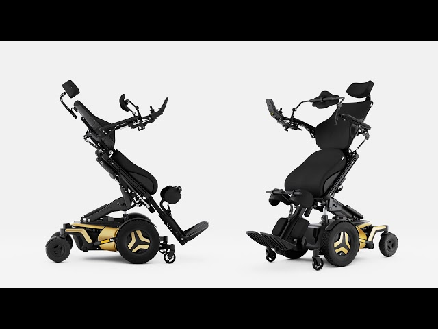 Permobil F5 VS  Standing Power Chair Video