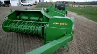 John Deere 24T Square Baler Restoration