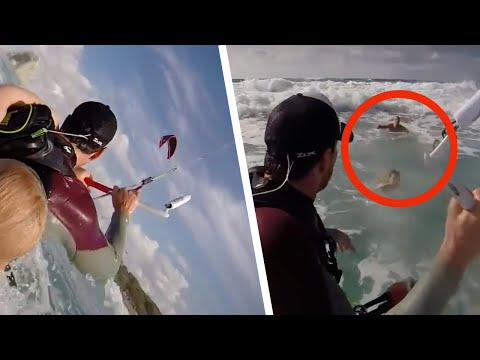 衝浪者發覺海上有人求救 幾分鐘後成了這家人的救命恩人