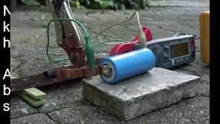 VIDEO 162 Kurzschlusstest LiFePo  Accu 26650