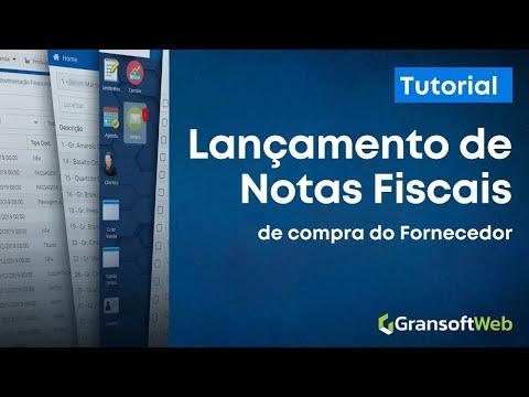Lançamento de Notas Fiscais de Compra