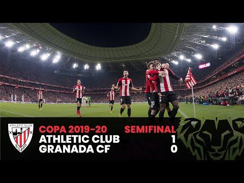RESUMEN | Copa del Rey Semifinales (ida) | Athletic Club 1-0 Granada CF ⚽