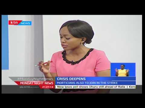 The deepening crisis - with  KMPDU treasurer Dr Daisy Korir, Mwachonda Chibanzi and Allan Ochanji
