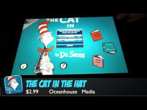 The Cat in the Hat –  iPad App Review (Education)