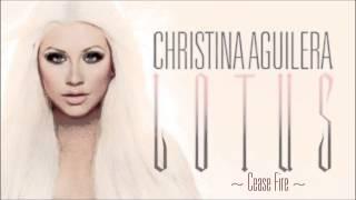 Christina Aguilera - Cease Fire [Lyrics] FULL Song