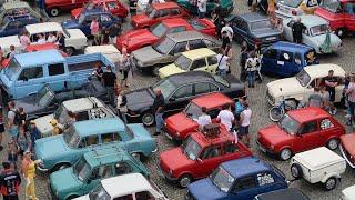 Wideo1: Retro Rynek - zjazd pojazdów klasycznych we Wschowie