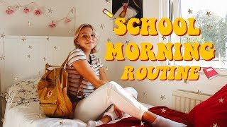 BACK TO SCHOOL MORNING ROUTINE 2018!