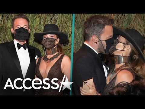 Jennifer Lopez & Ben Affleck Share Kiss At Met Gala