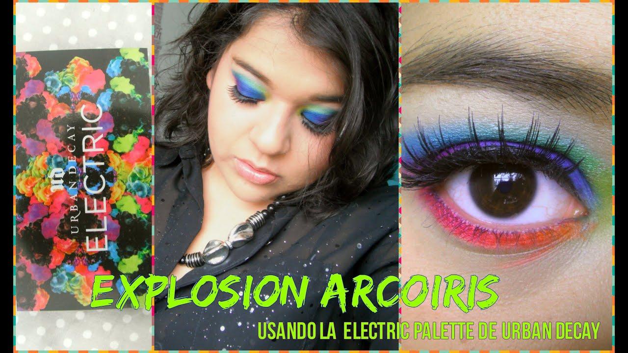 Explosión Arcoiris usando la Electric Palette