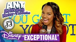 A.N.T. ACHTUNG NATUR-TALENTE - Song: Exceptional   Disney Channel Songs