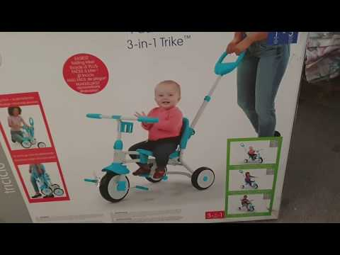 Unboxing Little Tikes Pack 'n Go 3-in-1 Trike and Assembling