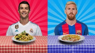 Top 26 Footballers And Their Favourite Foods
