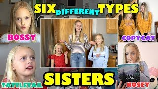 Which Type of Sister Are You!? BOSSY, COPYCAT, TATTLETAIL... (Jaidyn, Lyla & Sophie)