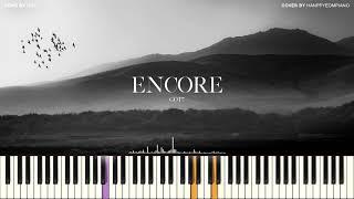 GOT7(갓세븐) - ENCORE(앙코르) PIANO COVER