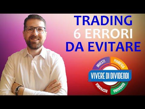 Fare trading sulla piattaforma senza investire denaro