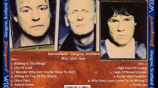 BBM- Bruce, Moore, Baker- Barrowlands, Glasgow, Scotland 5/23/94