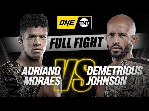 Деметриус Джонсон – Адриано Мораес / Demetrius Johnson vs. Adriano Moraes