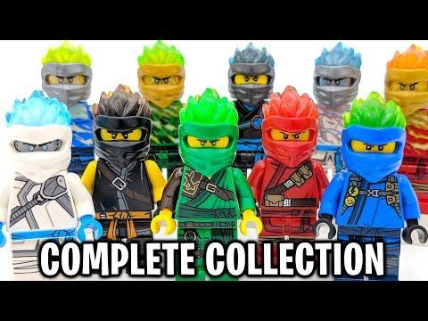 LEGO Ninjago COMPLETE Forbidden Spinjtizu Ninja Collection! (Season 11 Minifigures)