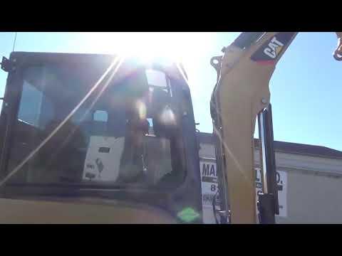 2015 Caterpillar Cat 303.5E CR Mini Rubber Track Excavator Cab Heat Air For Sale