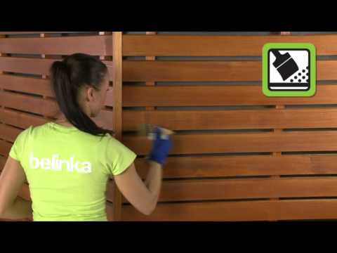 Wie streicht man neues Holz mit Lasuren?(de)
