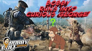 BOBBYPOFF RUNS INTO CURIOUS GEORGE! - BLACKOUT SOLOS