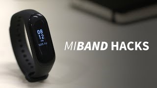 Mi Band 3 -  Amazing Tips !