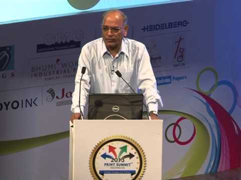Print Summit 2013 : Prof. V K Murti- Prospering in a hyper-competitive market place! Part 3