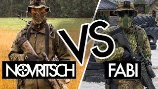 NOVRITSCH vs. SNIPERBUDDY FABI | Airsoft Sniper Duel