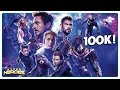 100,000 Subscribers, Road to Avengers: Endgame!