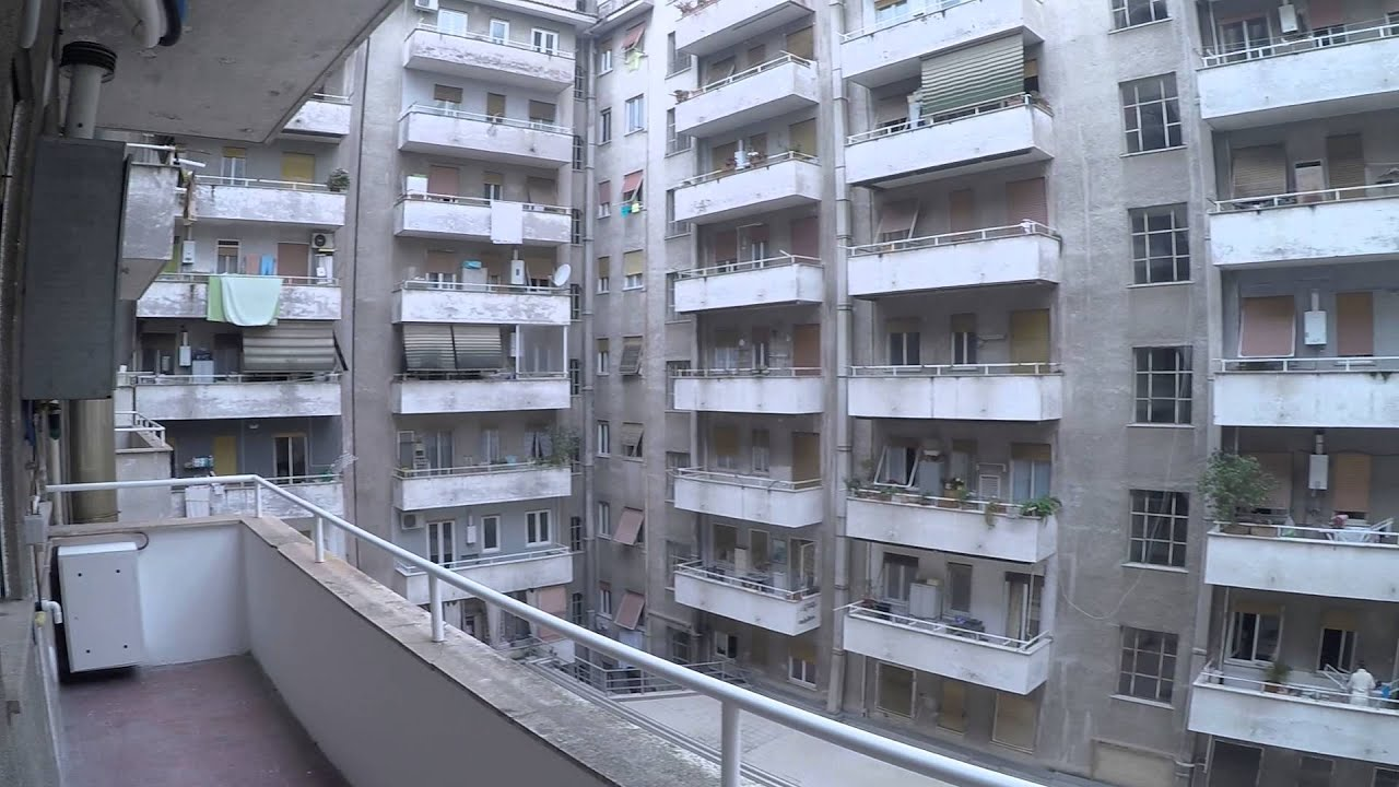 2 Bedrooms with balconies in a renovated apartment near Roma Tre University in Ostiense