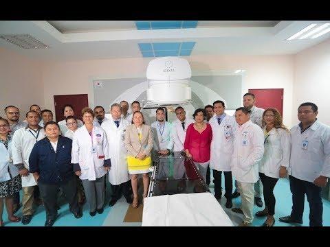 Nicaragua inicia tratamiento con acelerador lineal para combatir el cáncer
