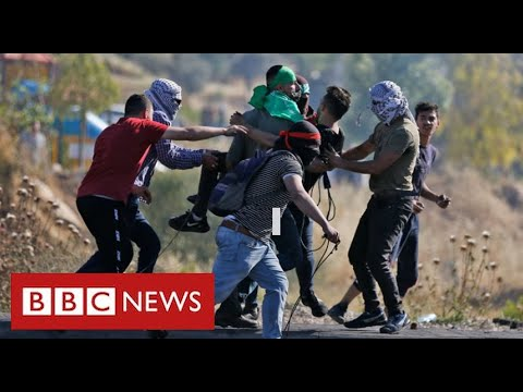 Serious clashes in West Bank as Palestinians protest over Israeli air strikes in Gaza - BBC News