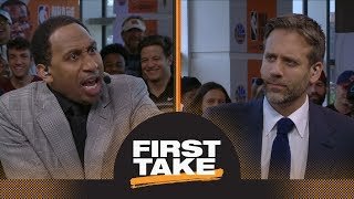 Stephen A. goes off on Max for saying Michael Jordan intimidated NBA players | First Take | ESPN