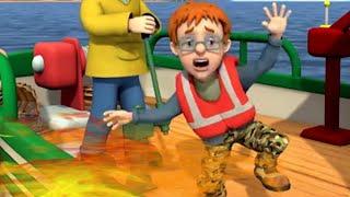 Feuerwehrmann Sam ⭐️Norman ist auf dem Boot gefangen! 🔥Sam rettet den Tag!   Cartoons für Kinder