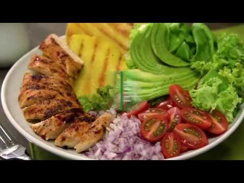 Ensalada de pollo picante con piña | Nutrioli Spray