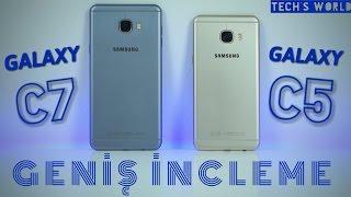 Samsung Galaxy C5 Ve C7 Geniş İnceleme