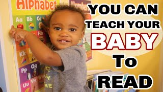 TEACH YOUR BABY TO READ | Learning to read from 0 to 3 years old | LESS THAN 10 MINUTES A DAY