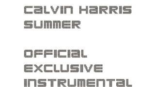 Calvin Harris - Summer (Official Instrumental)