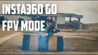 Insta360 GO FPV Mode vs Gopro Hero 7 Black, chasing FPV Drone smoke bombs! Ft. BANGODIN