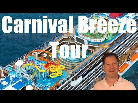 Carnival Breeze Review – Full Walkthrough – Cruise Ship Tour
