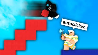 I got accused of autoclicking, So I used Handcam.. (Roblox Bedwars)
