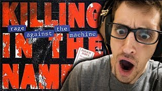 """Hip-Hop Head's FIRST TIME Hearing """"Killing In The Name"""" by RAGE AGAINST THE MACHINE"""