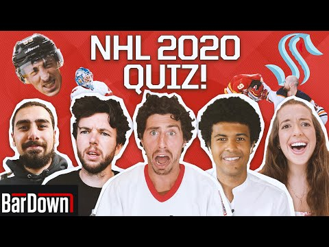 CAN YOU PASS THIS 2020 NHL SEASON QUIZ?
