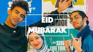EID MUBARAK    An Unusual Eid Message - From BENI