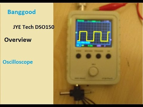 $20 JYE Tech oscilloscope from Banggood Overview