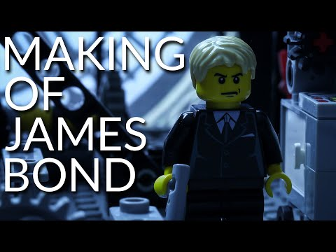 Making of Lego James Bond