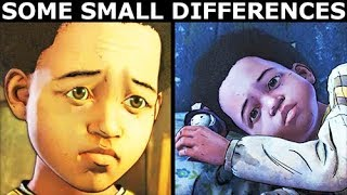 """Some """"AJ Will Remember That"""" Difference Check - The Walking Dead Final Season 4 Episode 2"""