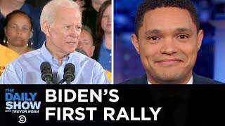 Biden Gets His Trump Nickname and Stumbles Through His First 2020 Rally | The Daily Show