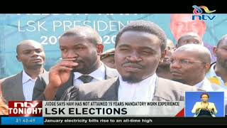 Nelson Havi locked out of LSK election - VIDEO