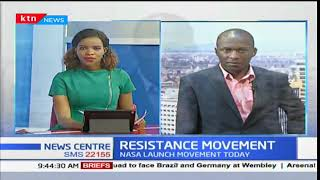 NASA to launch the national resistance movement